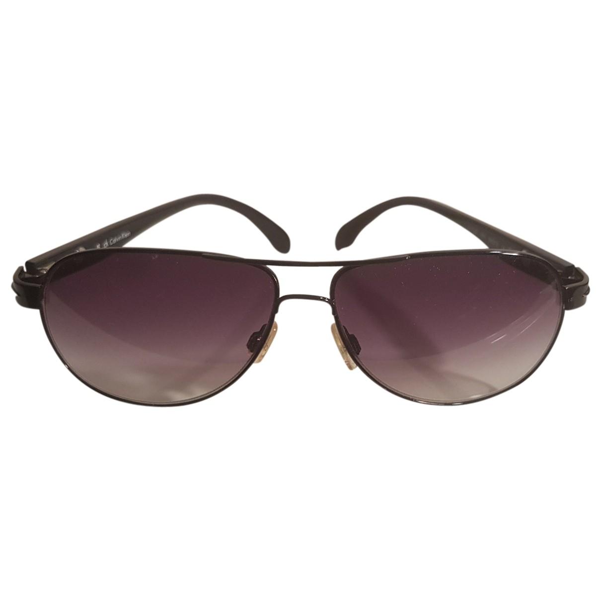 Calvin Klein \N Sonnenbrillen in  Schwarz Kunststoff