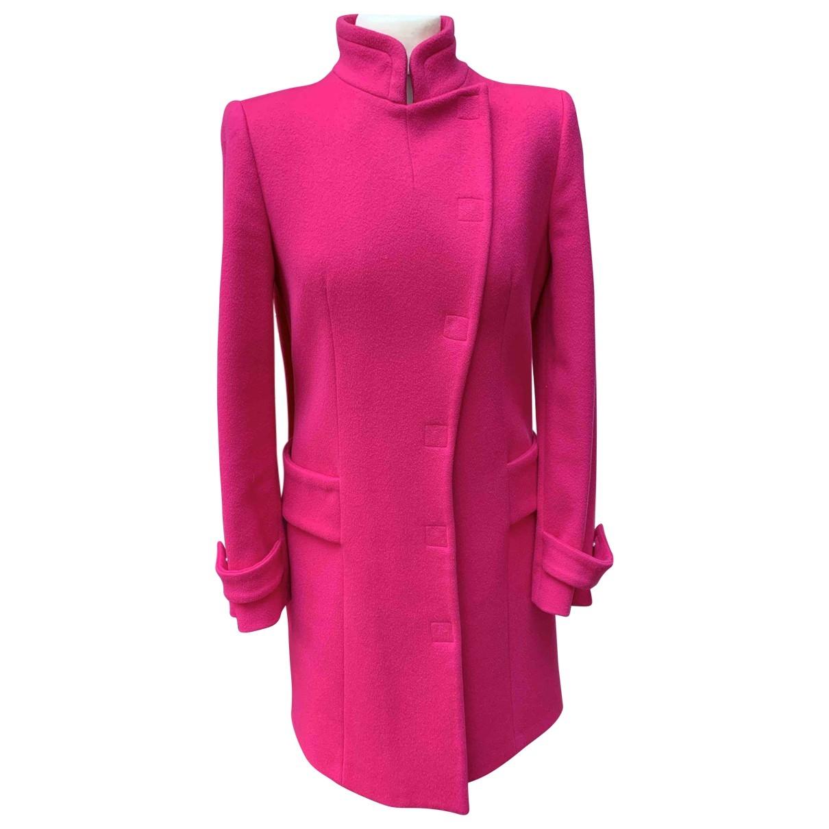 Versace \N Maentel in  Rosa Wolle
