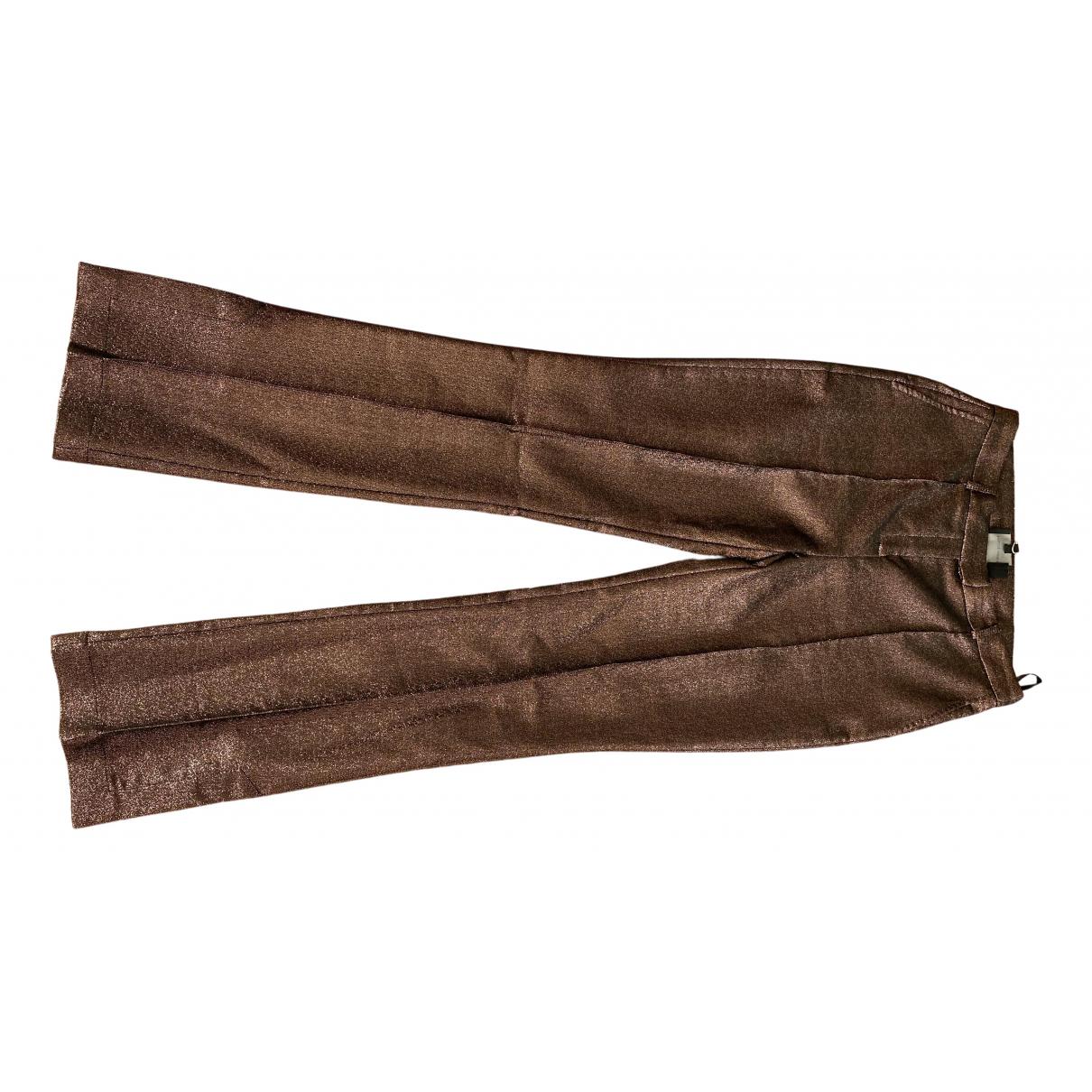 Birgitte Herskind \N Pink Trousers for Women 12 UK