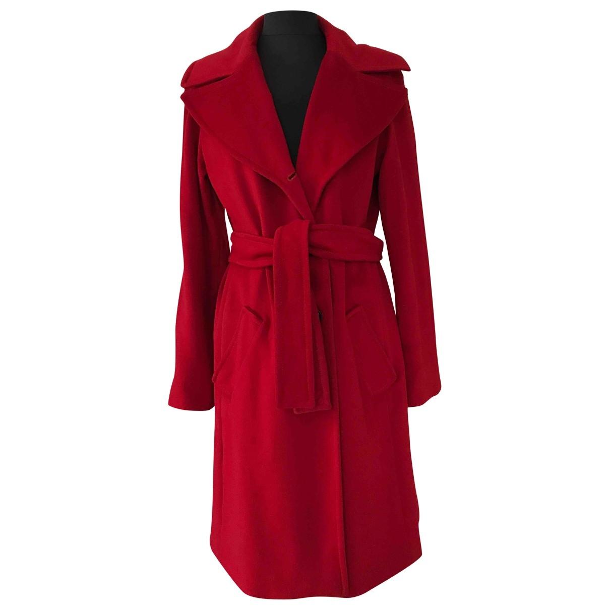 Marella \N Red Wool coat for Women 40 FR