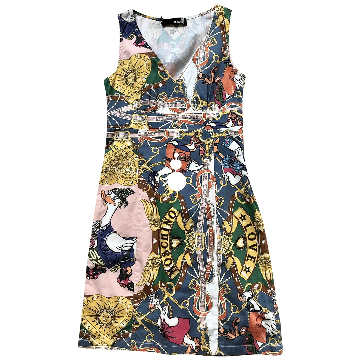 Moschino Love \N Cotton dress for Women 40 FR