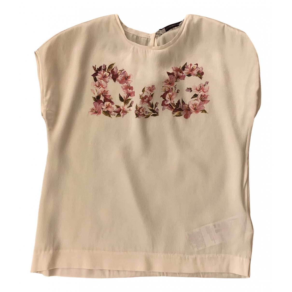 Dolce & Gabbana - Top   pour enfant en soie