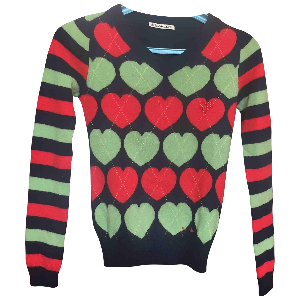 Beayukmui \N Blue Cashmere Knitwear for Women 40 IT
