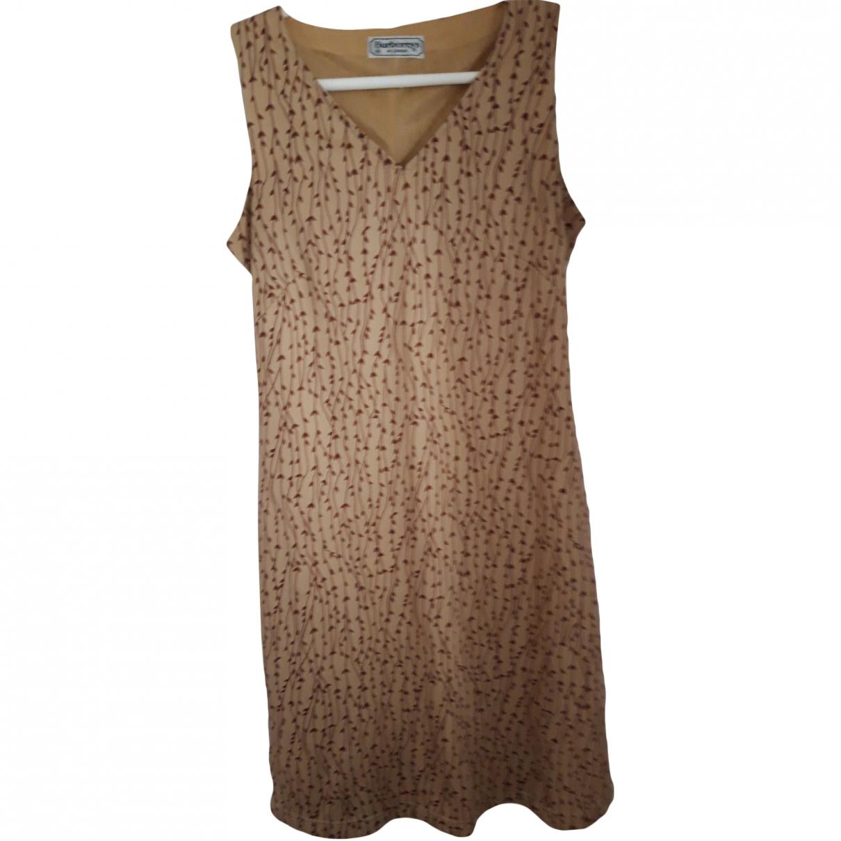 Burberry \N Beige dress for Women 40 FR