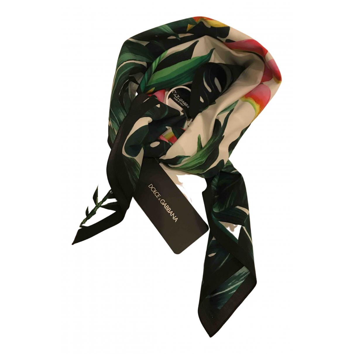 Dolce & Gabbana \N Schal in  Bunt Baumwolle