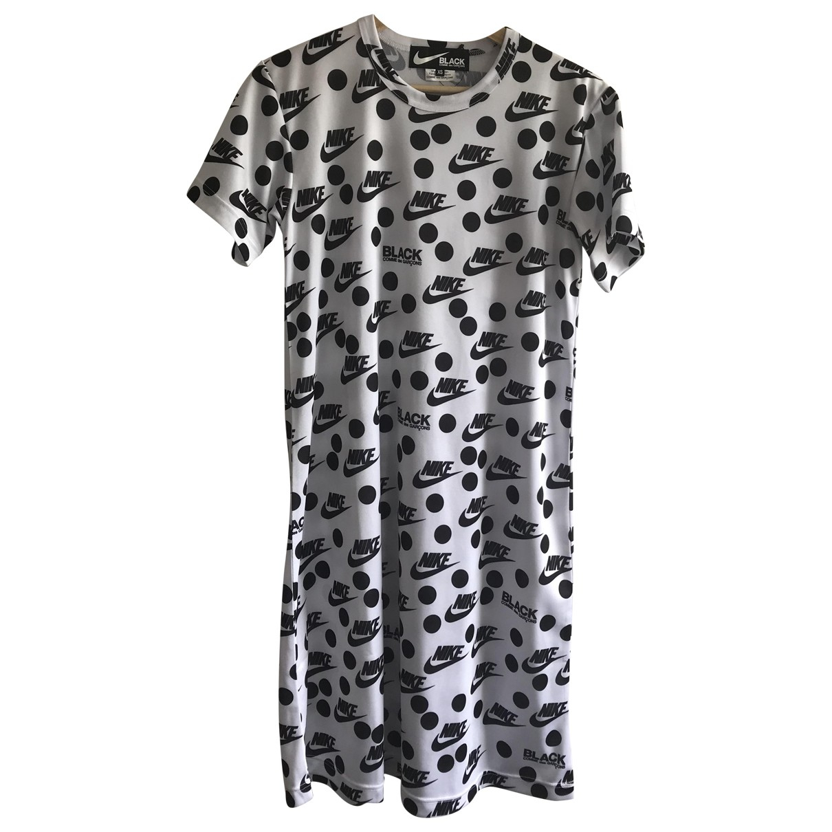 Comme Des Garcons \N Kleid in  Weiss Polyester