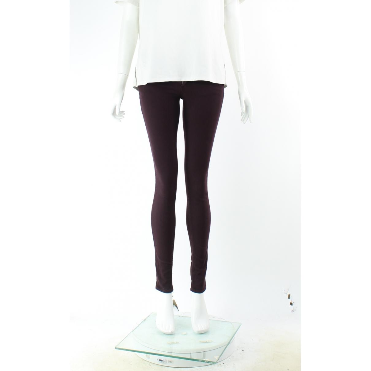 Rag & Bone \N Brown Cotton Jeans for Women 44 FR