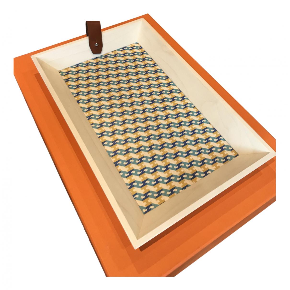 Hermes - Objets & Deco   pour lifestyle en bois - beige