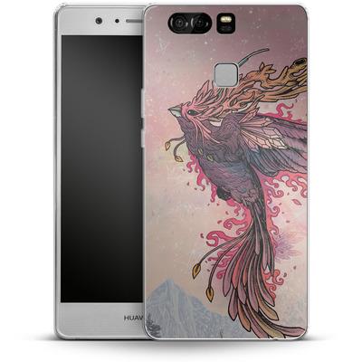 Huawei P9 Silikon Handyhuelle - Phoenix von Mat Miller