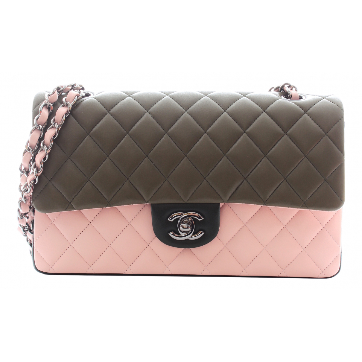 Chanel Timeless/Classique Handtasche in  Bunt Leder