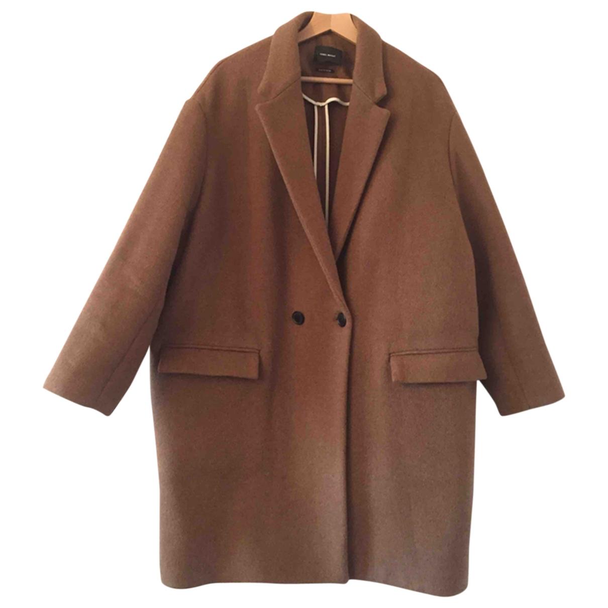 Isabel Marant - Manteau   pour femme en laine - camel