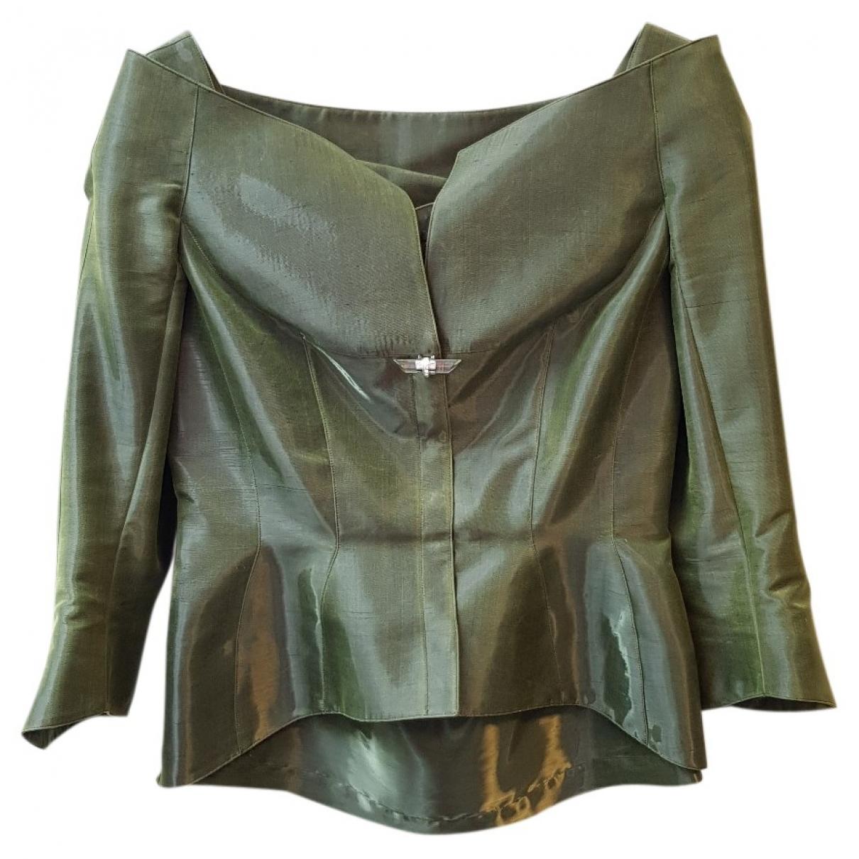 Thierry Mugler - Veste   pour femme - vert