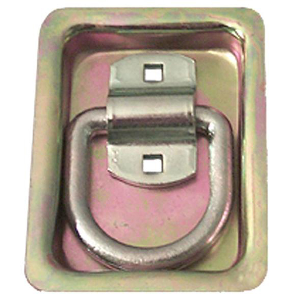 Tie Down Anchor Recessed D-Ring 12K 3 Part Snappin Turtle V4145