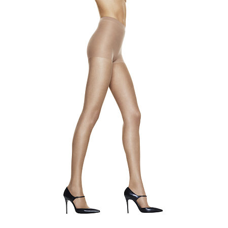 Hanes Silk Reflections Silky Sheer Control-Top Sandalfoot Pantyhose, Ef , No Color Family
