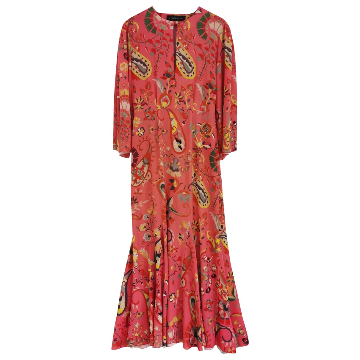Etro \N Kleid in  Orange Polyester