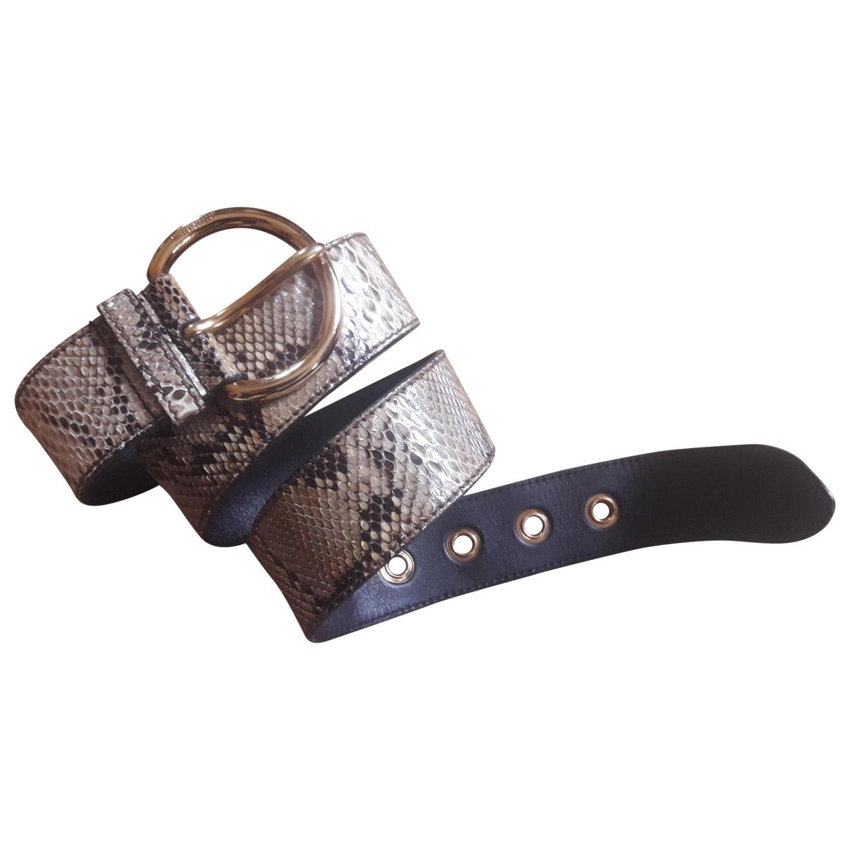 Cinturon de Piton Miu Miu