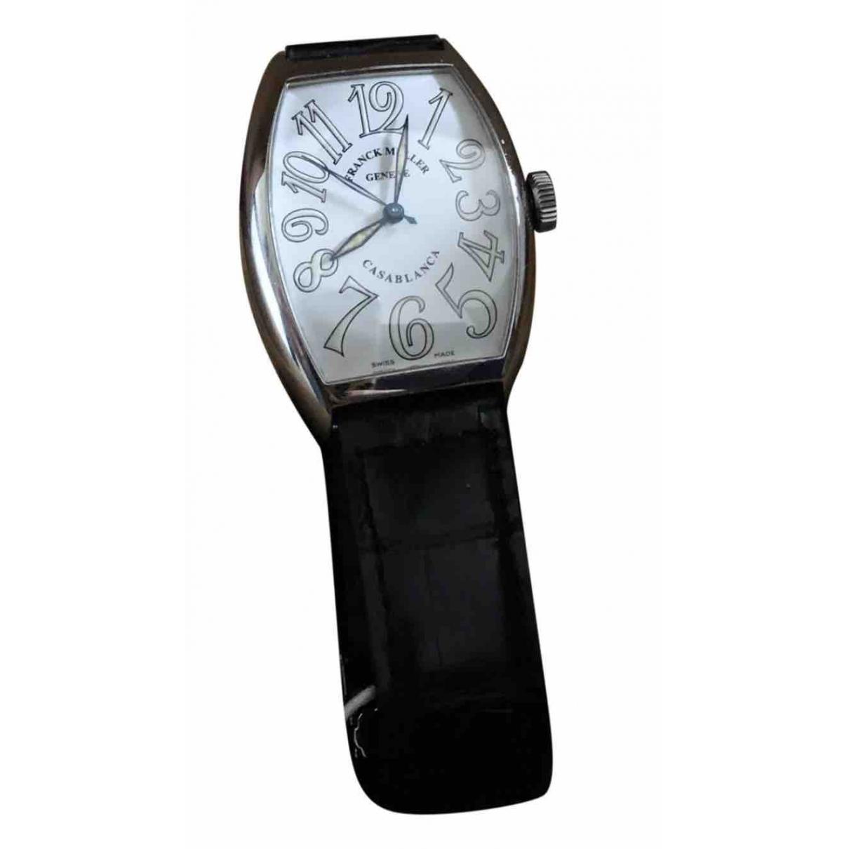 Franck Muller Casablanca Uhr in  Weiss Stahl