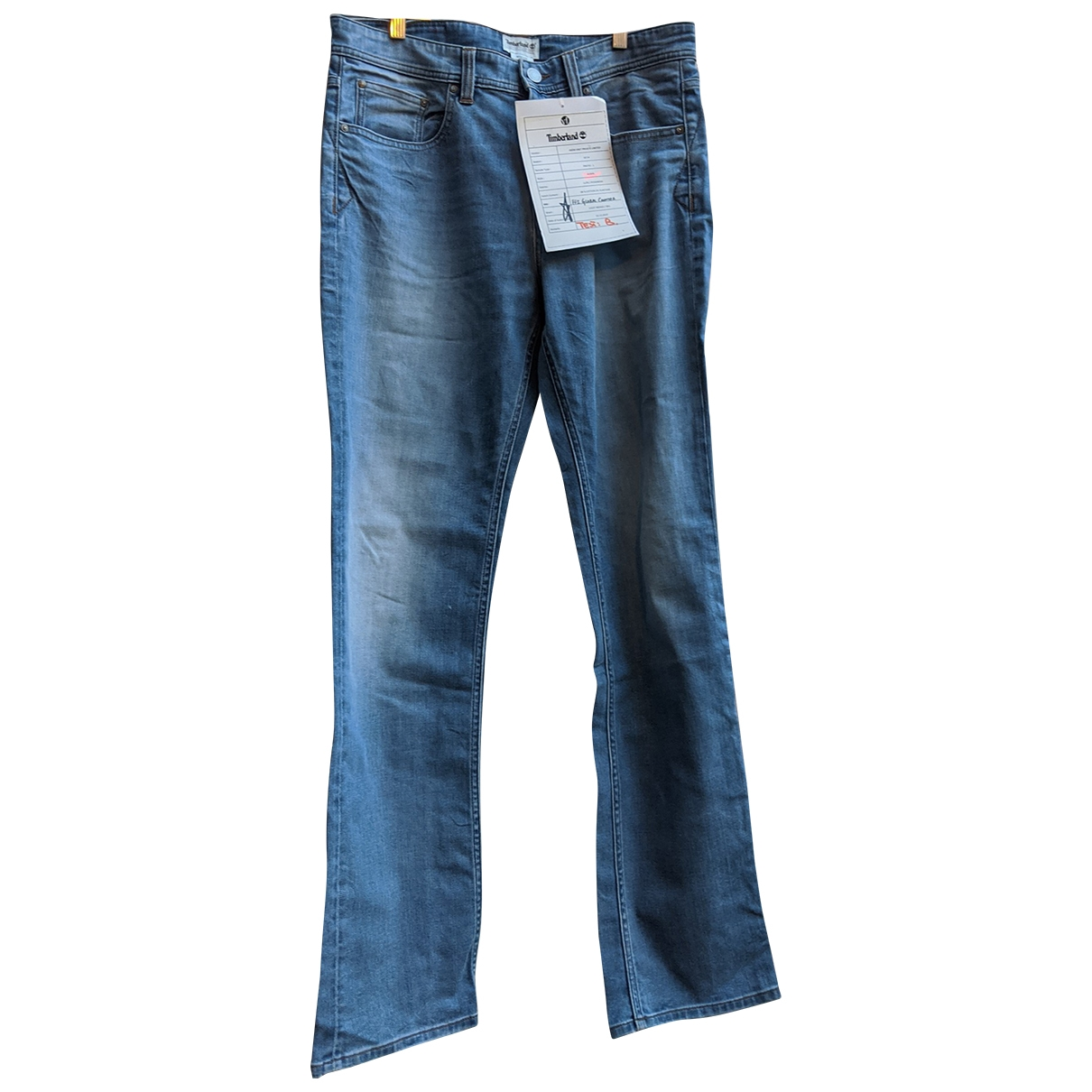Timberland \N Blue Denim - Jeans Trousers for Men 54 IT
