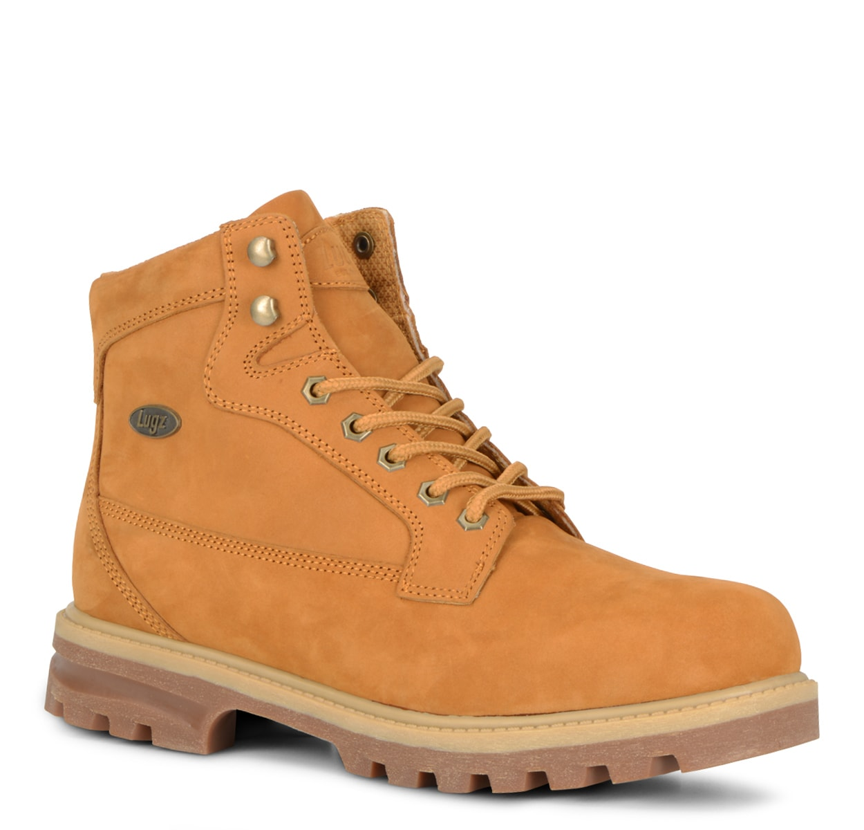 Men's Brigade Hi 6-Inch Boot (Choose Your Color: Golden Wheat/Cream/Gum, Choose Your Size: 10.5)