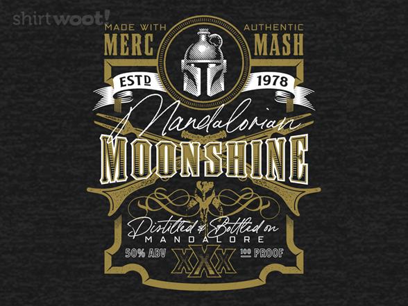 Mandalorian Moonshine T Shirt