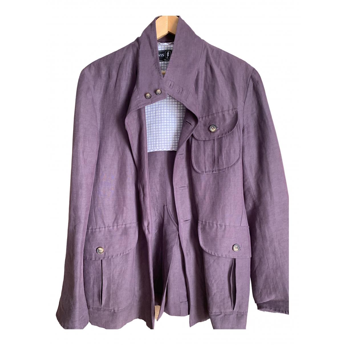 Arnys \N Purple Cotton jacket  for Men 48 FR