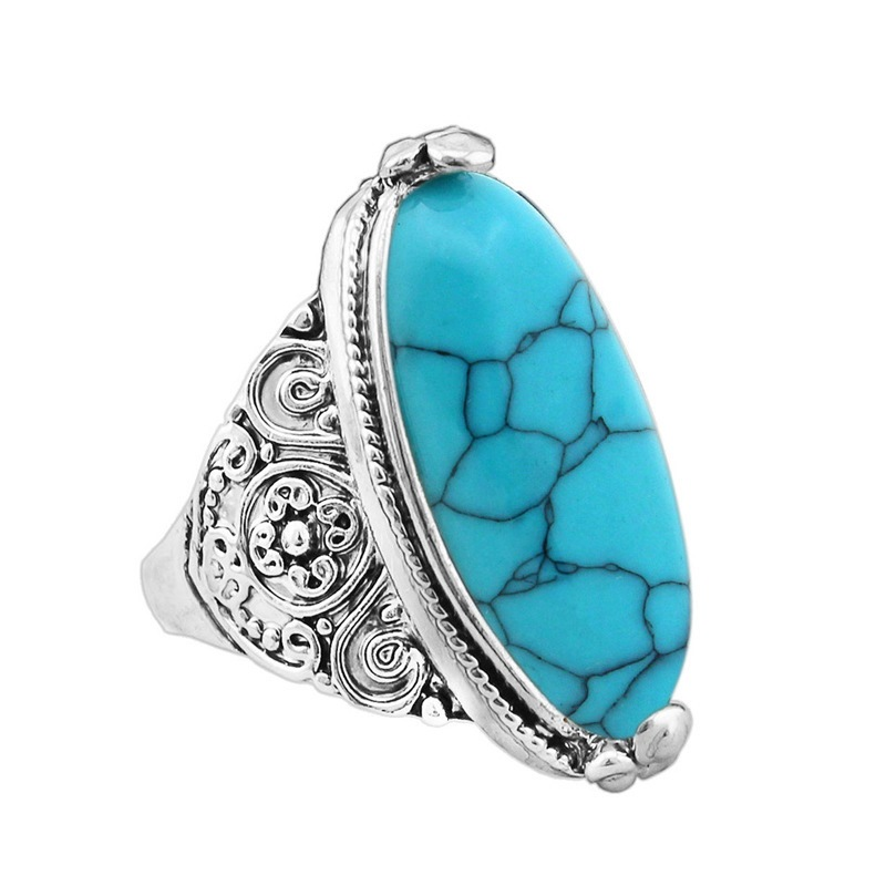 Ericdress Vintage Marbling Ring