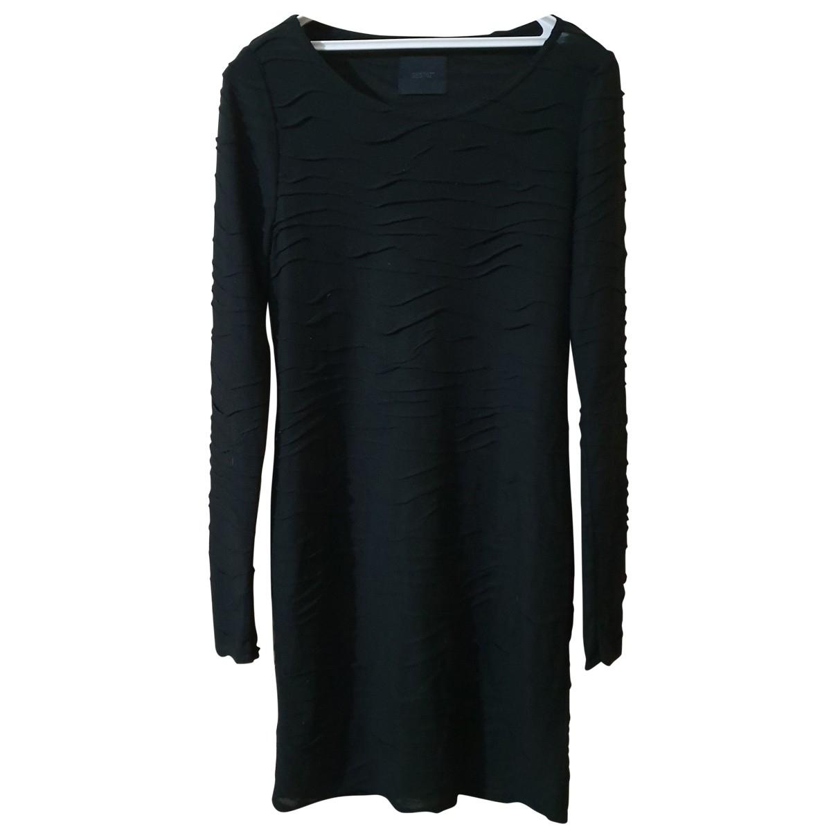 Gestuz \N Kleid in  Schwarz Viskose