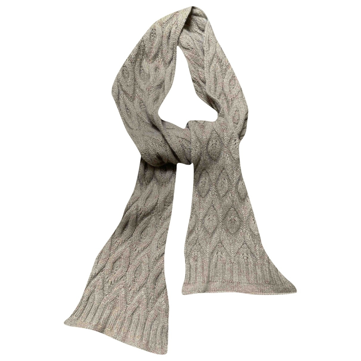 Brora \N Camel Cashmere scarf for Women \N