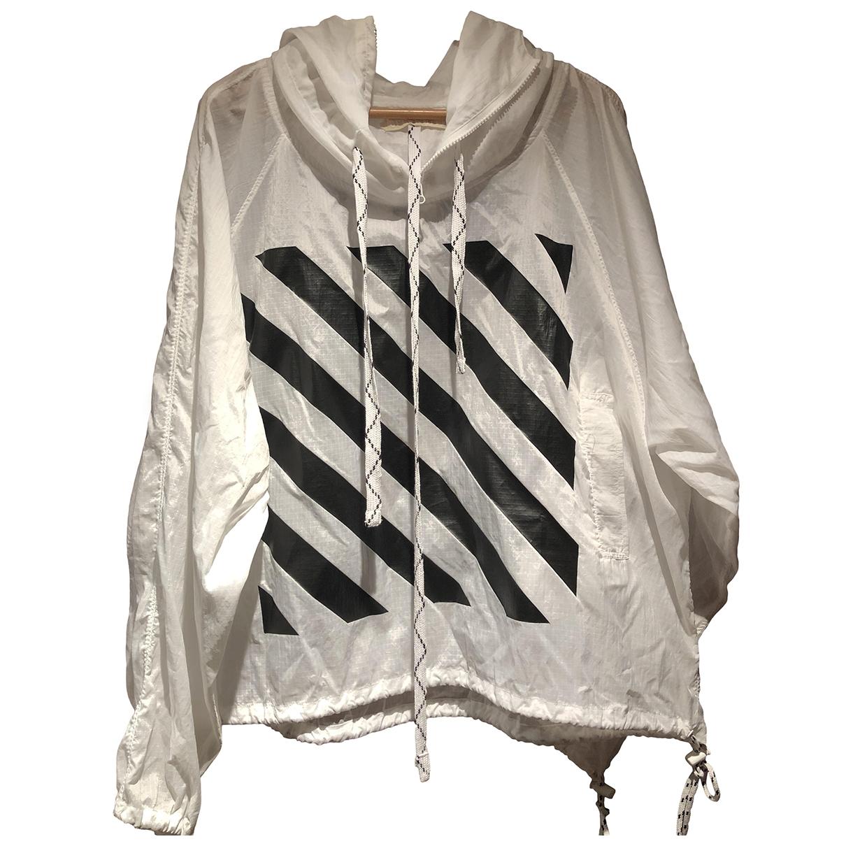 Off-white \N White jacket  for Men XXS International