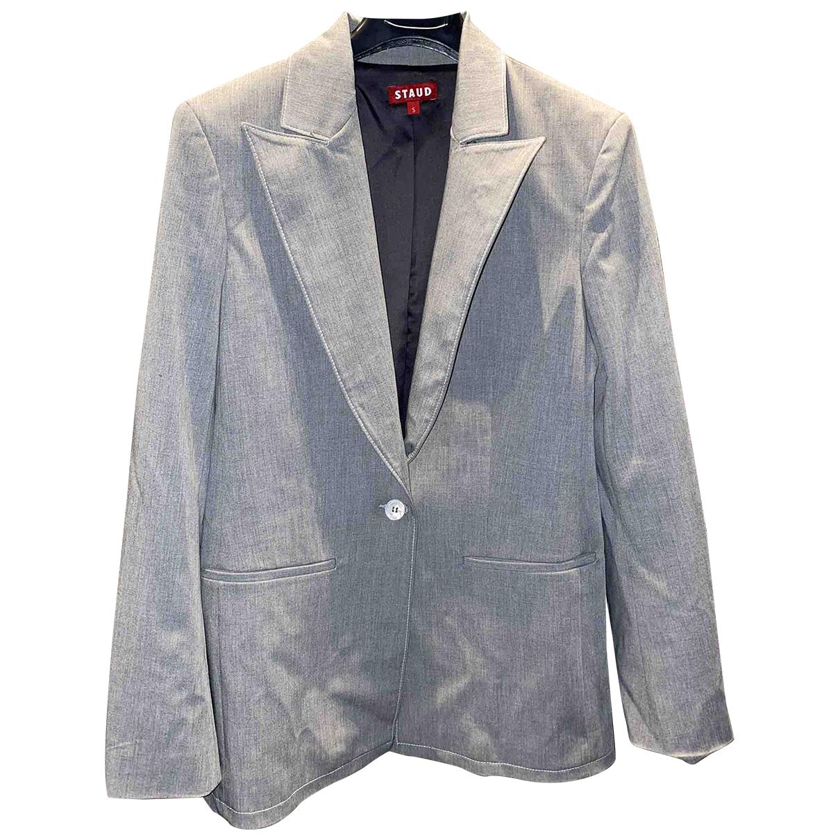 Staud \N Grey jacket for Women S International