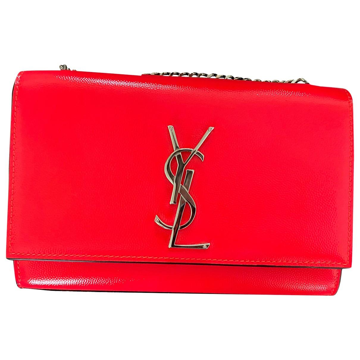 Saint Laurent Kate monogramme Handtasche in Leder