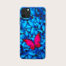 1 Stueck iPhone Huelle mit Schmetterling Muster