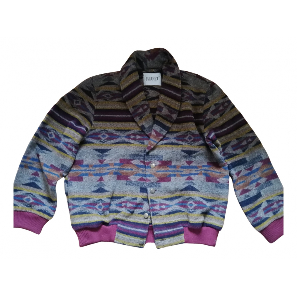 Non Signe / Unsigned \N Jacke in  Bunt Wolle