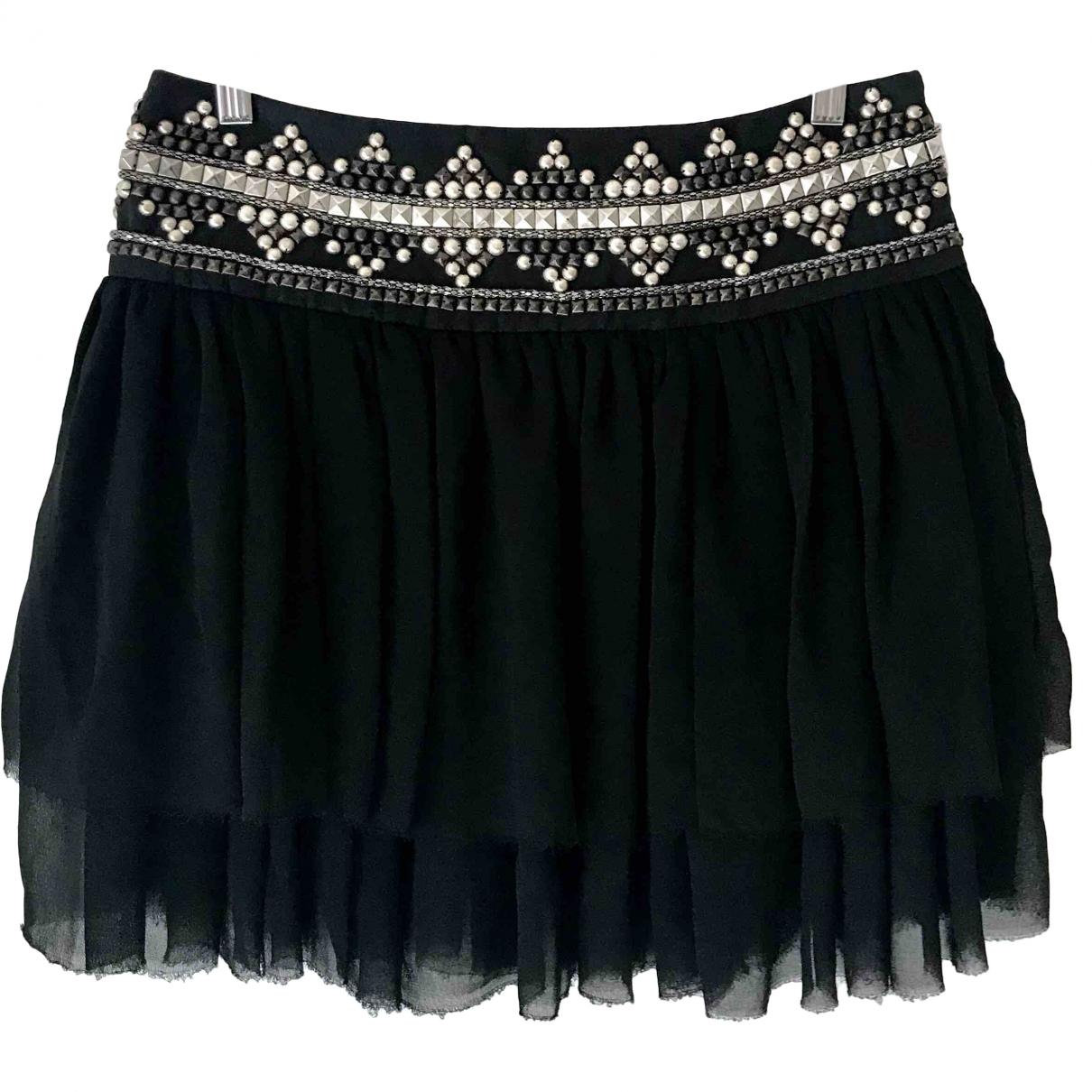 Pierre Balmain \N Black skirt for Women 38 FR