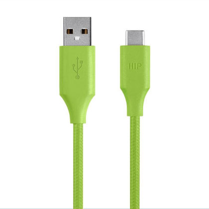 Palette Series 2.0 USB-C to USB A - Monoprice® - 6ft, Green