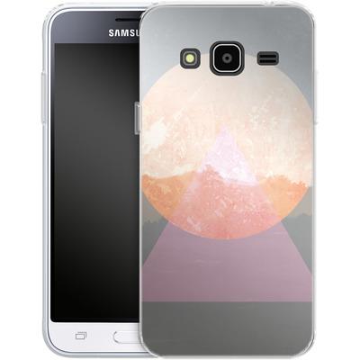 Samsung Galaxy J3 (2016) Silikon Handyhuelle - Landscape Abstract 3 von Mareike Bohmer