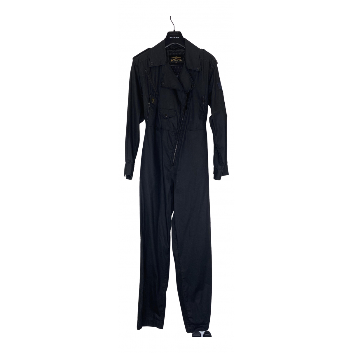 Vivienne Westwood Anglomania \N Black Cotton jumpsuit for Women S International