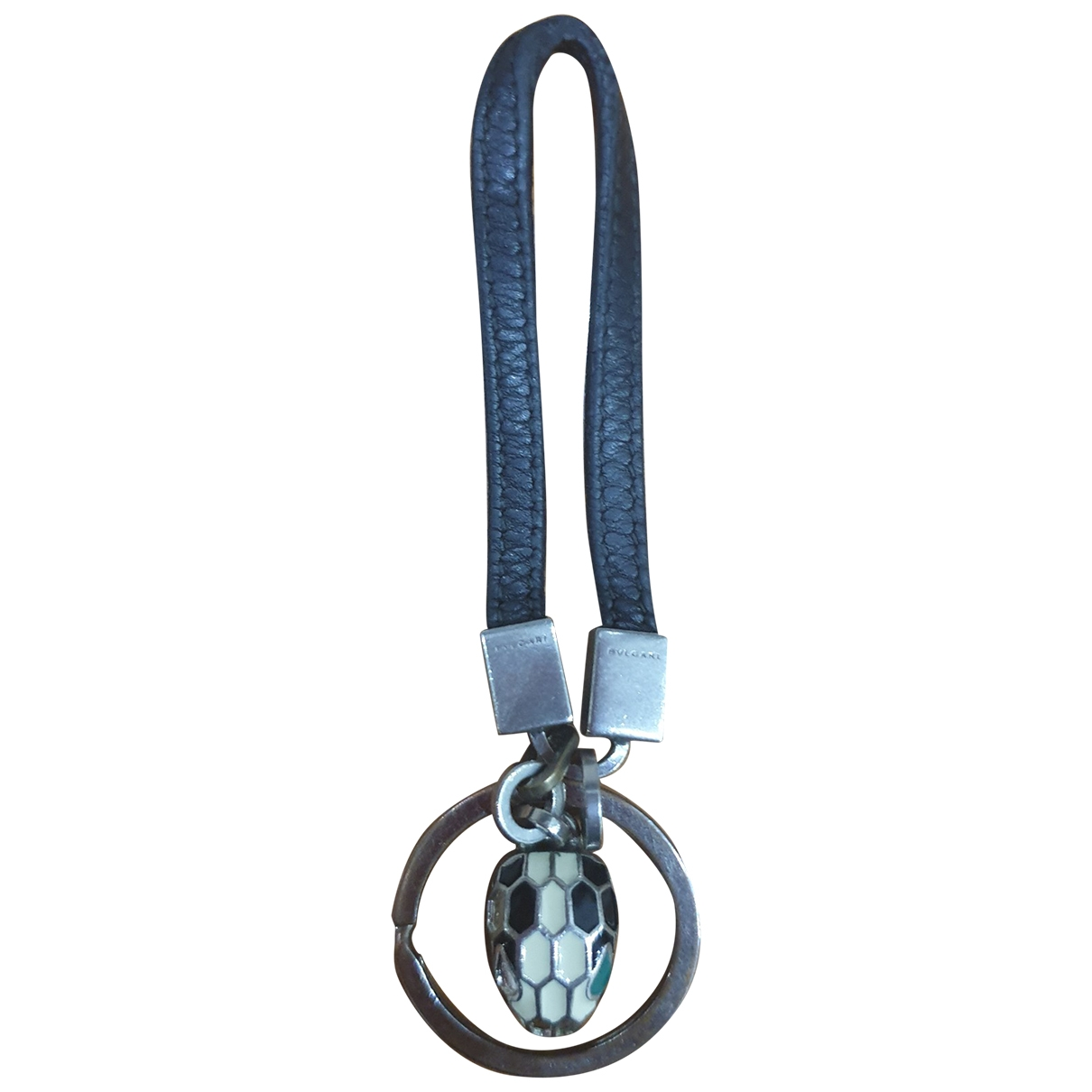 Bvlgari - Petite maroquinerie   pour homme en cuir - noir