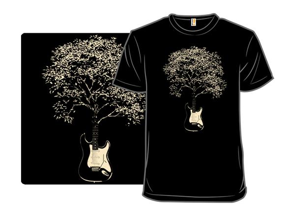 Musical Tree T Shirt