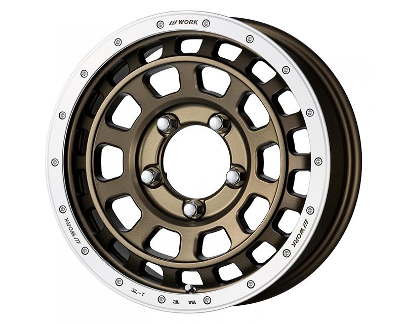 Work Crag T-Grabic Wheel 15x5 4x100 45mm