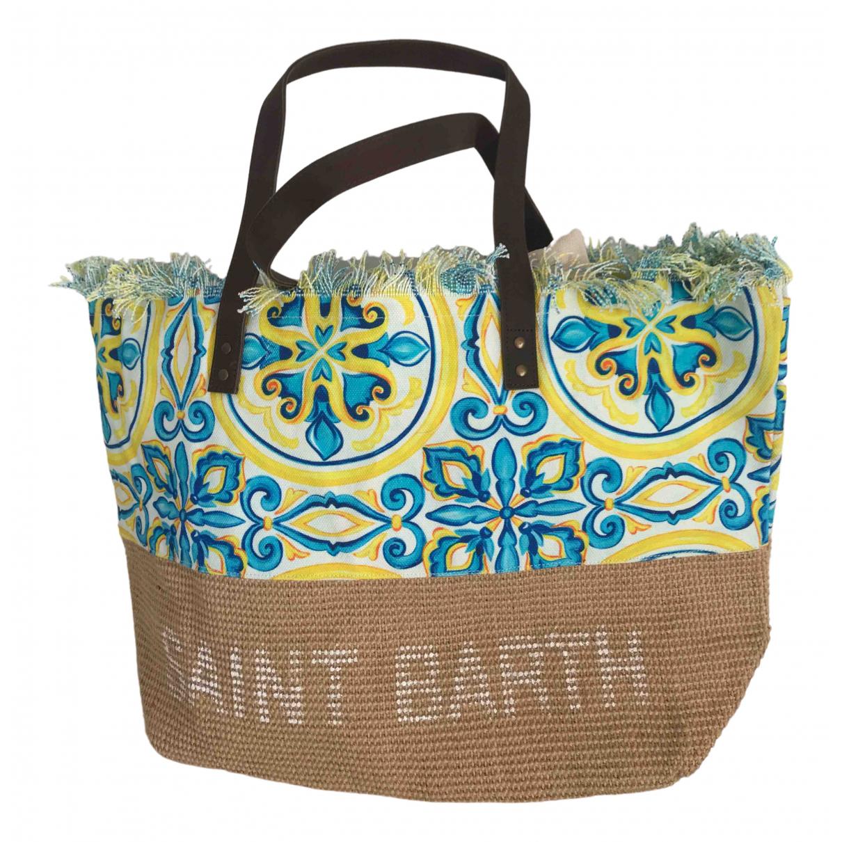 Mc2 Saint Barth - Pochette   pour femme en paille - multicolore