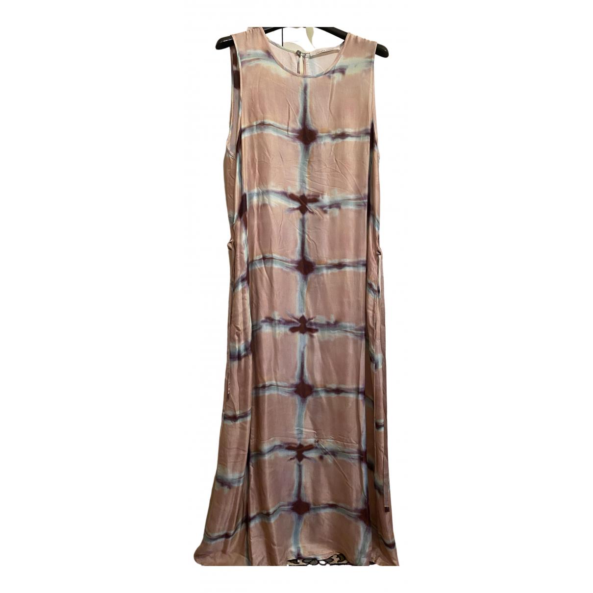 Liviana Conti N Pink Silk dress for Women 42 IT