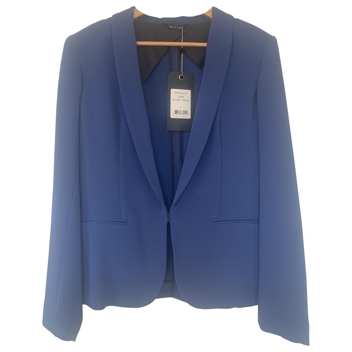 Rag & Bone - Veste   pour femme - bleu