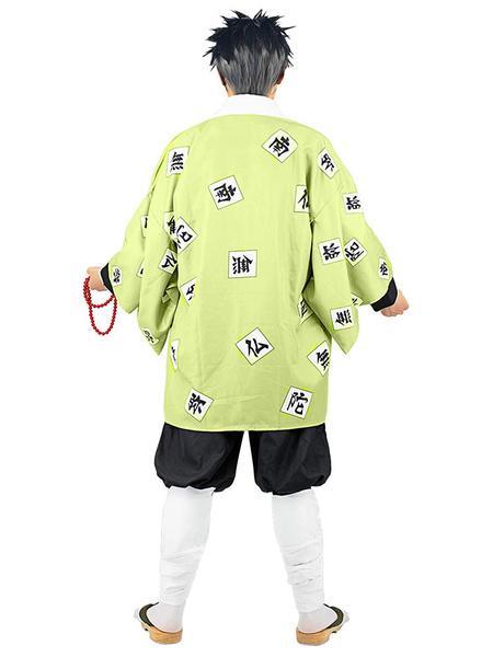 Milanoo Demon Slayer: Kimetsu No Yaiba Himejima Kyoumei Kimono Only Anime Cosplay Costume