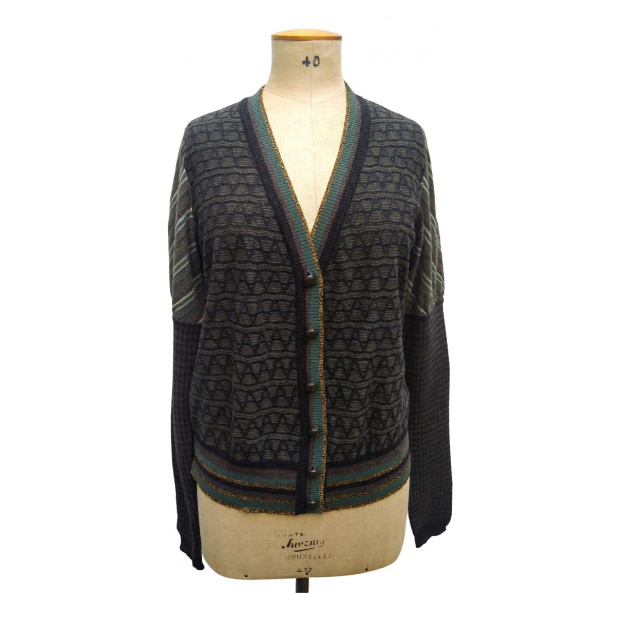 Kenzo - Pull   pour femme en laine - multicolore