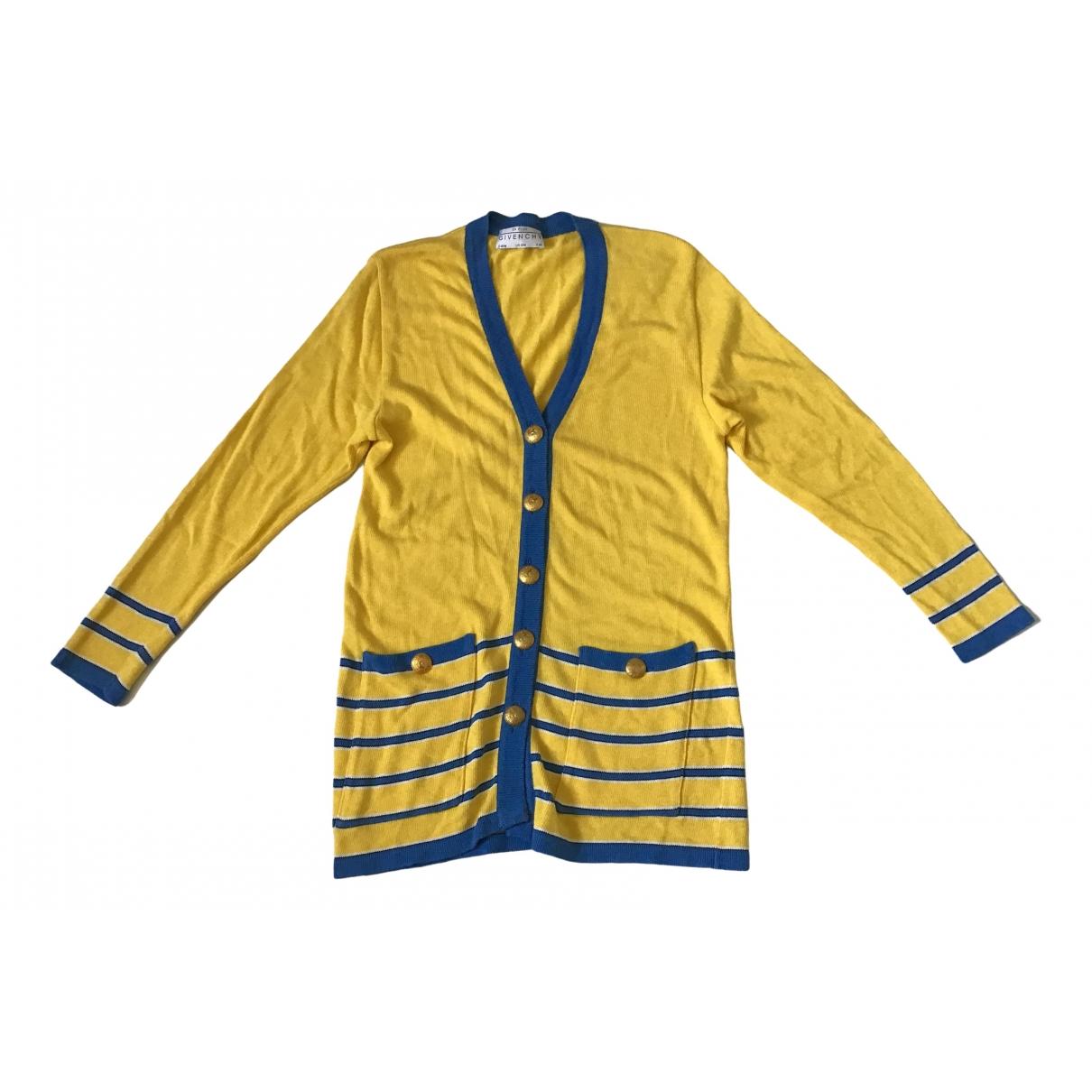Givenchy - Pull   pour femme en coton - jaune
