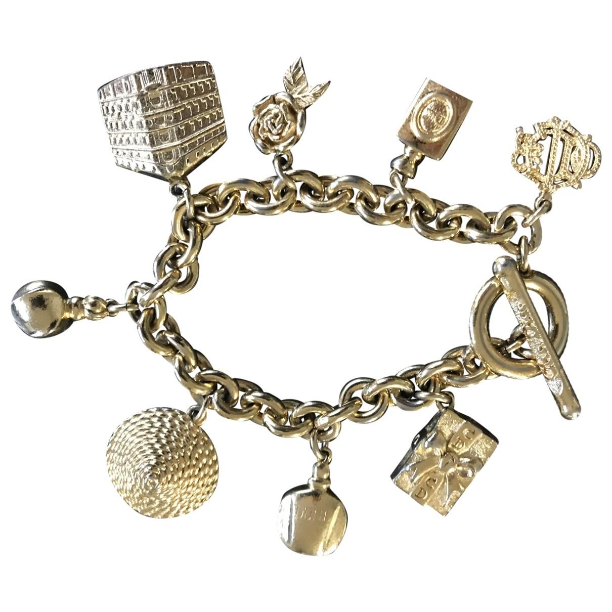 Dior Gourmette Armband in  Metallic Metall