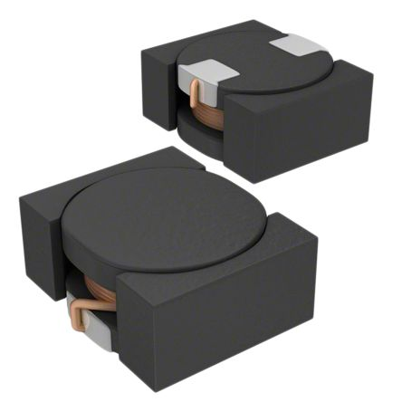 TDK , VLF-M, 302512 Shielded Wire-wound SMD Inductor with a Ferrite Core, 10 μH Wire-Wound 620mA Idc (5)
