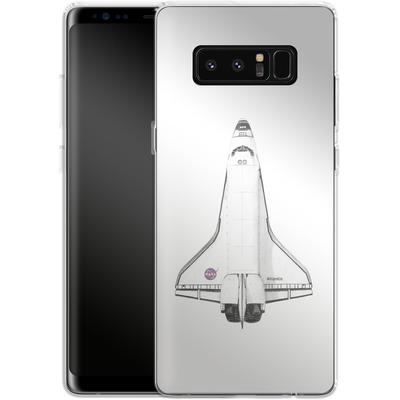 Samsung Galaxy Note 8 Silikon Handyhuelle - Atlantis von Florent Bodart
