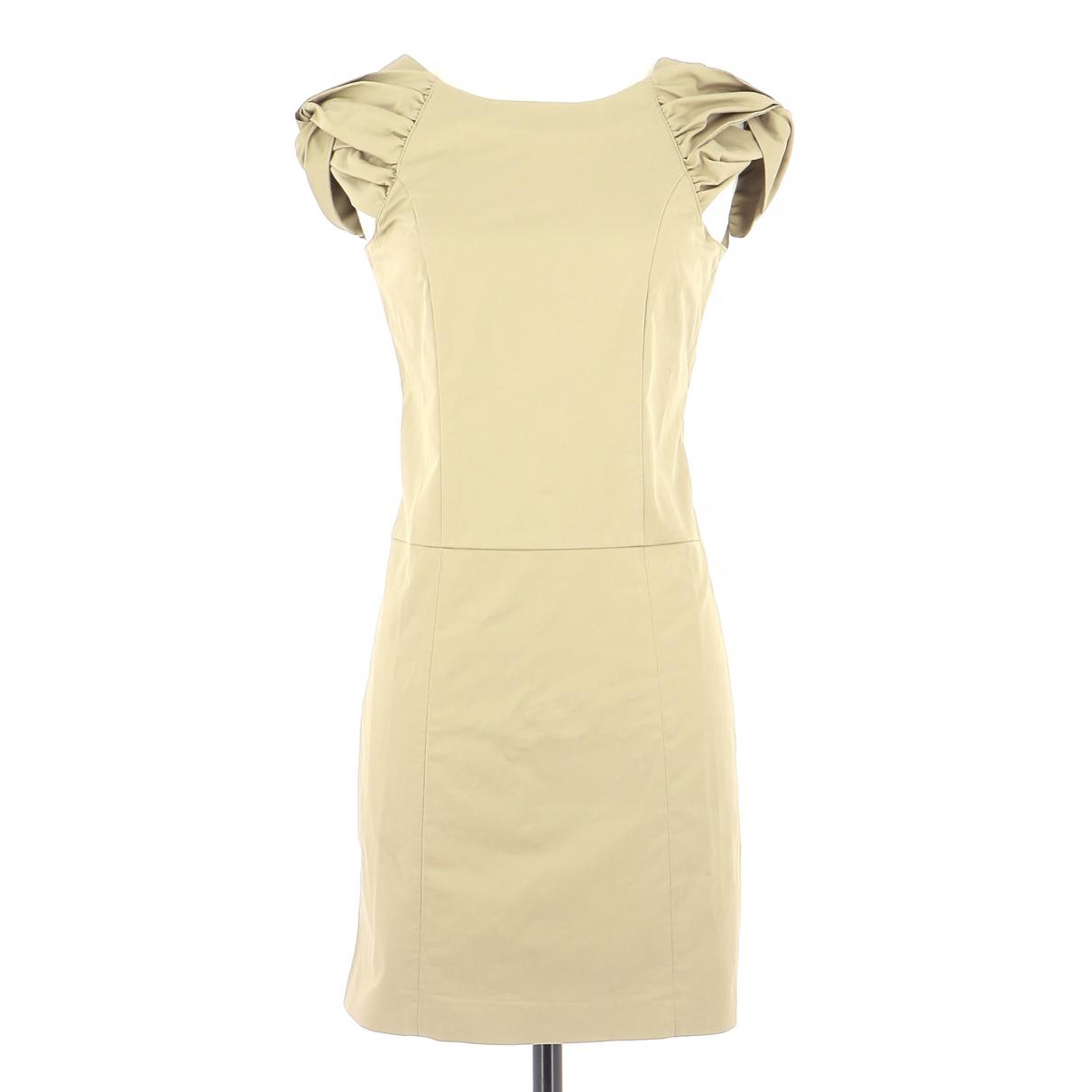 Paul & Joe Sister \N Kleid in  Gold Baumwolle